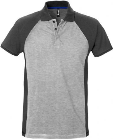 Fristads Acode Polo Shirt 7650 PIQ (Grey/Dark Grey)
